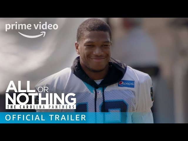 All or Nothing: The Carolina Panthers - Official Trailer | Prime Video
