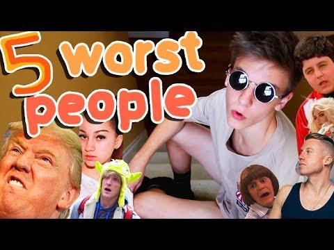 TOP 5 WORST PEOPLE