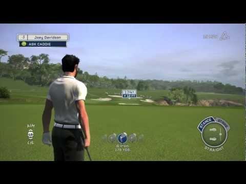 Tiger Woods PGA Tour '13 Gameplay