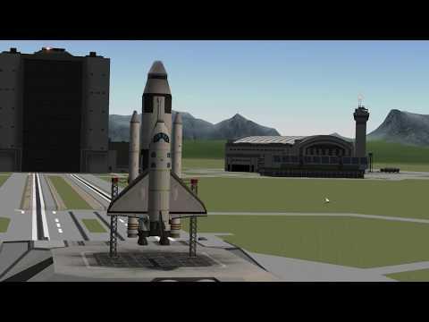 KSP Shuttle Mk 2.5 - no comments music version