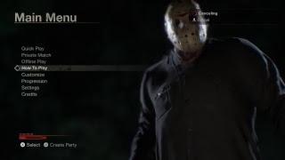 Playing online with friends - Friday the 13th: The Game