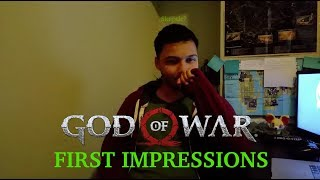 God of War First Impressions(From an Initial Skeptic)