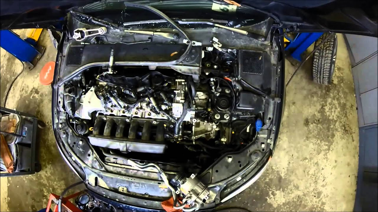 Portland volvo master tech does an s80 engine replacement in under 3 mins youtube