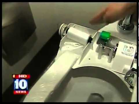 self closing toilet seat lid. Sanitary Toilet Seat  Automatic Cover PHOENIX GILA RIVER CASINO FOX 10 YouTube