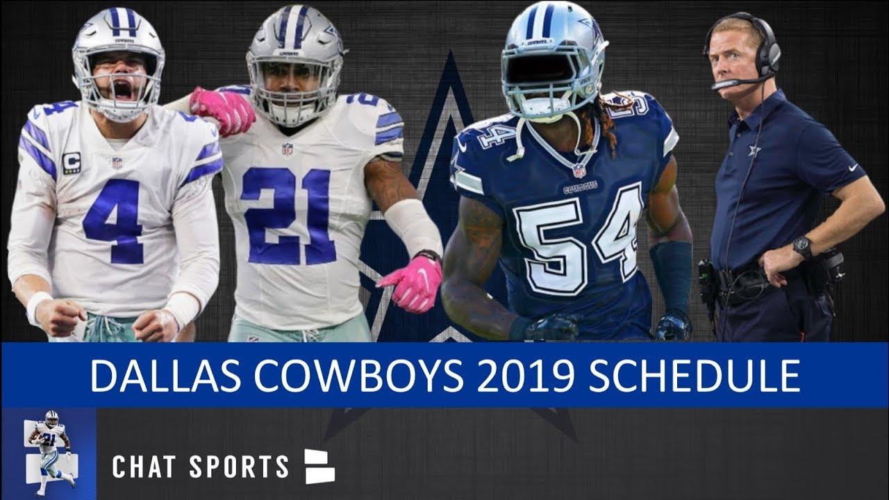 23 85 MB] Dallas Cowboys 2019 Schedule, Record Prediction