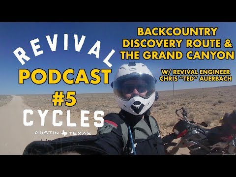 Back Country Discovery Route Grand Canyon // The Handbuilt Podcast #5