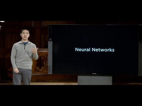 Neural Networks - Lecture 5 - CS50's Introduction to Artificial Intelligence with Python 2020