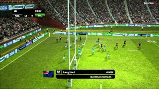 Rugby World Cup 2011 Gameplay #1