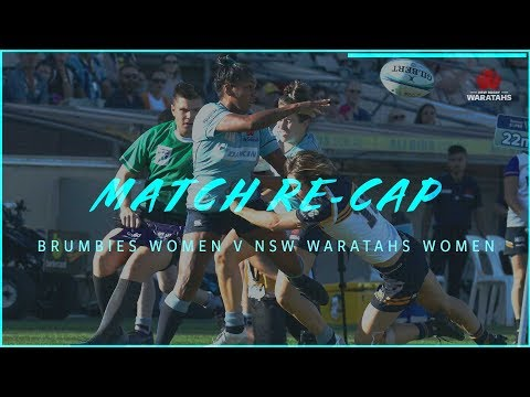 Match Recap - Round 1 | NSW Waratahs Women's v Brumbies Women's
