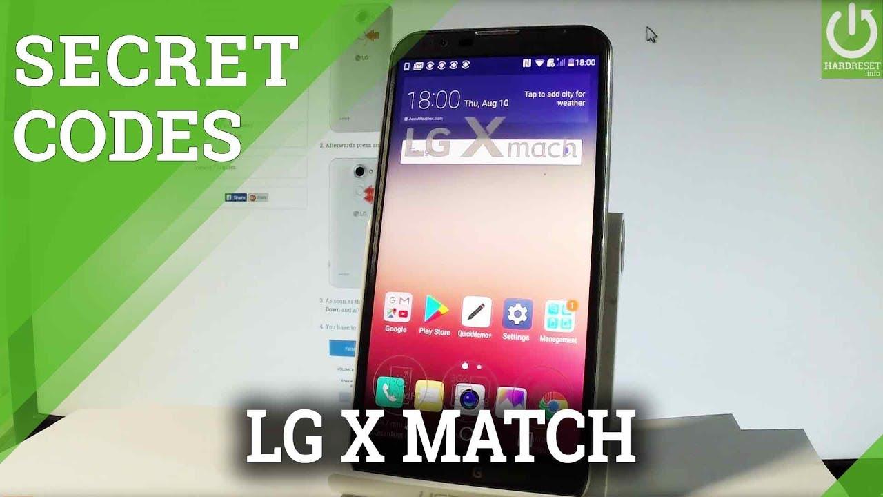 LG X Mach CODES / LG Tricks / Hidden Features / Secret Menu