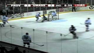 UMass Hockey Highlights From Overtime Tie To Providence