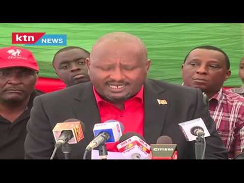 KANU's Full Press Conference accuseing IEBC of manipulating Kericho by-election in favor of JAP