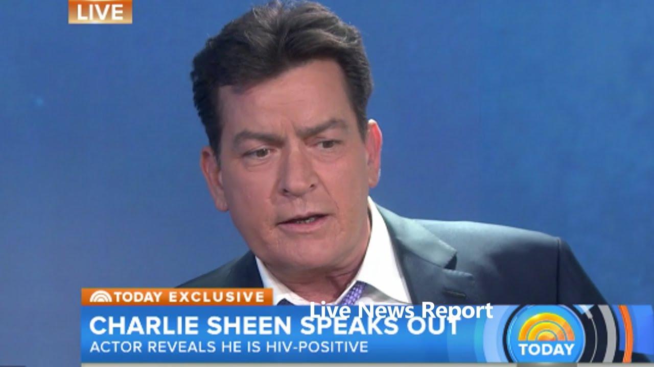 Resultado de imagem para Charlie Sheen aids