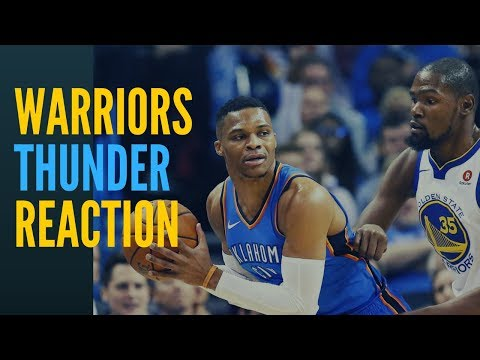 Warriors vs Thunder Reaction