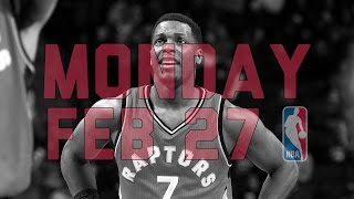 Repeat youtube video NBA Daily Show: Feb. 27 - The Starters