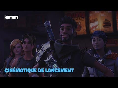 Fortnite - Cinématique de lancement