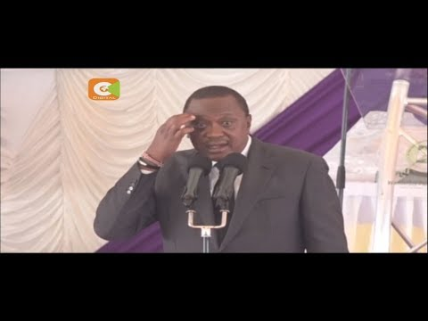 Kenyatta rules out dialogue with opposition