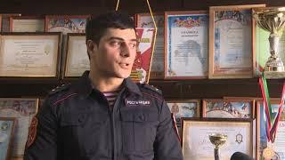 В Казани бойцы Росгвардии провели урок мужества для школьников