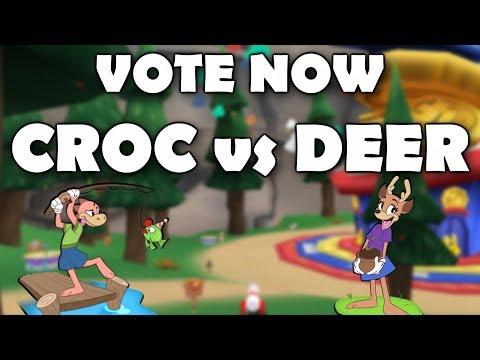 CROC OR DEER? TOON SPECIES ELECTION!!