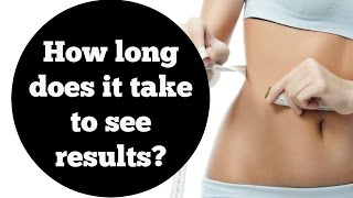 How long does it take to see results with exercise? (My top tips + 3 ways to speed up your results)