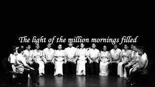 The Light of a Million Mornings - Philippine Madrigal Singers [HQ]