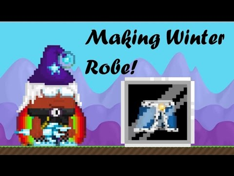 growtopia making winter robe youtube. Black Bedroom Furniture Sets. Home Design Ideas