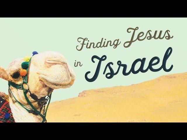Buck Storm's Book Finding Jesus in Israel