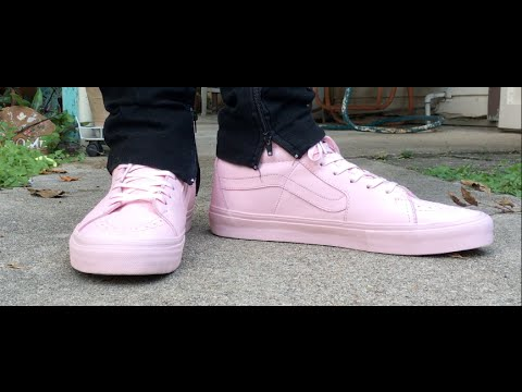 fe35524c0f Opening Ceremony X Vans Pink Sk8-Hi LX Review + On Foot! - YouTube