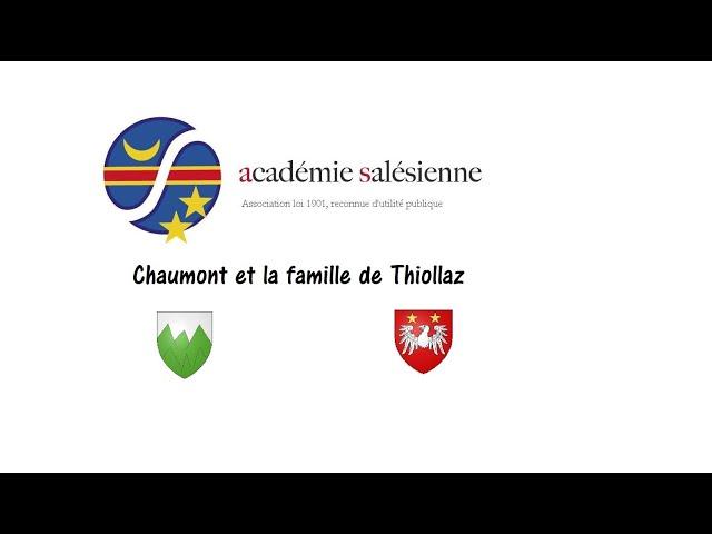 Chaumont et la famille de Thiollaz