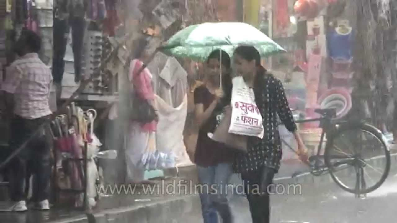 Sad Girl Breakup Wallpaper Two Indian Girls Walking In The Rain With An Umbrella