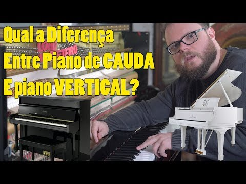 What's the Difference Between Grand Piano and Vertical Cabinet Piano?