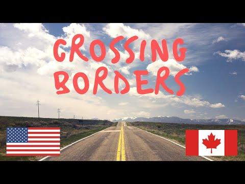 Crossing Borders USA To Canada Via Niagara Falls