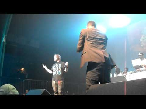 Kendrick Lamar - Ronald Reagan Era Live The Music Box Los Angeles, CA 8/19/11