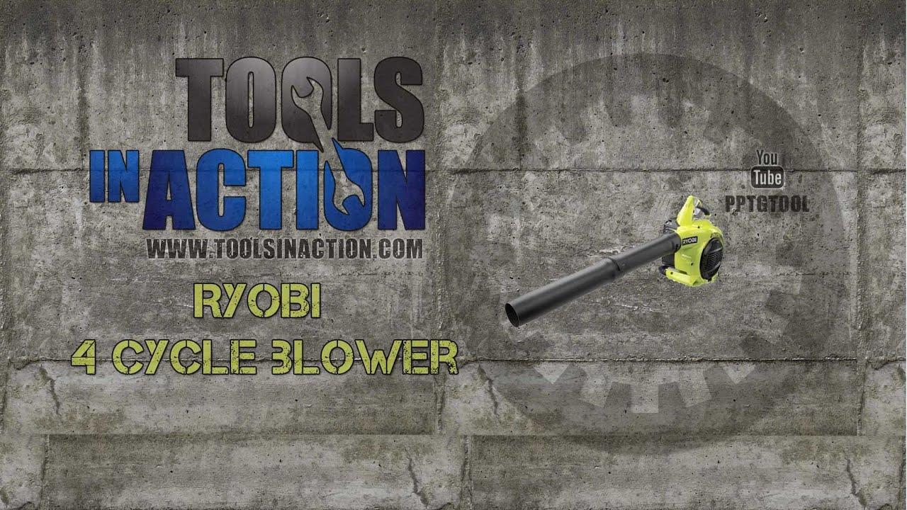 Ryobi 4-Cycle Gas Blower - RY09466
