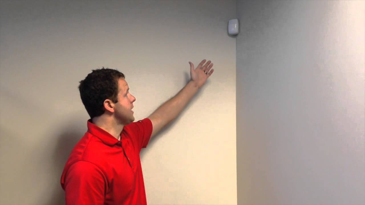 Changing A Motion Detector Battery