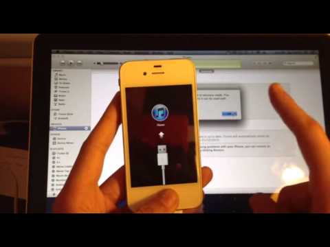 Fix :- iPhone rebooting or stuck on Apple / iTunes Logo - How To DFU Mode