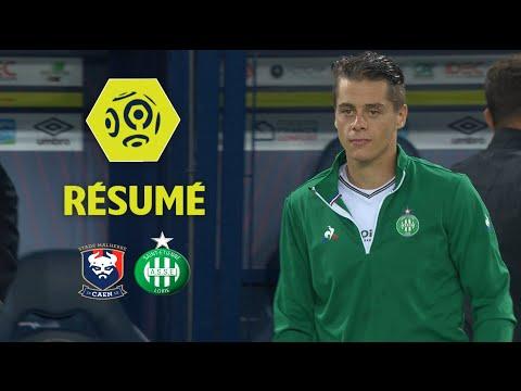 SM Caen - AS Saint-Etienne (0-1)  - Résumé - (SMC - ASSE) / 2017-18