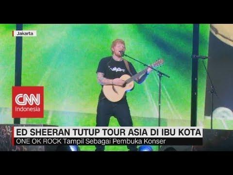 Kemeriahan Konser Ed Sheeran di Jakarta Mp3