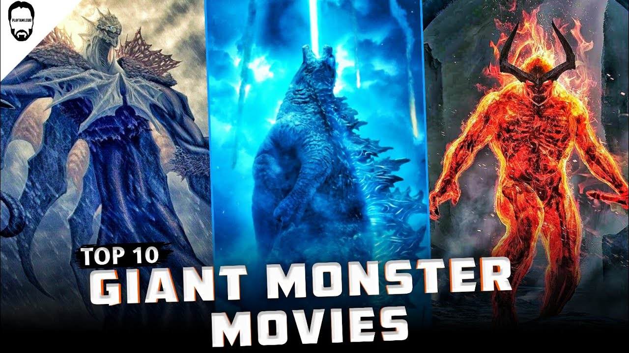 Download Top 10 Giant Monster Movies | Best Hollywood movies in Tamil Dubbed | Playtamildub