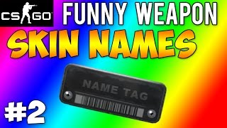 CS GO - Funny Weapon Skin Names #2