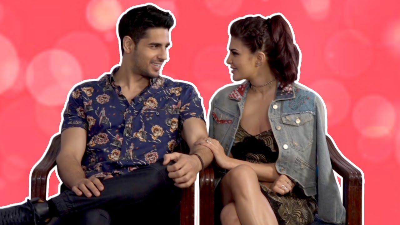 Jacqueline Fernandez REACTS to link up rumours with Sidharth Malhotra