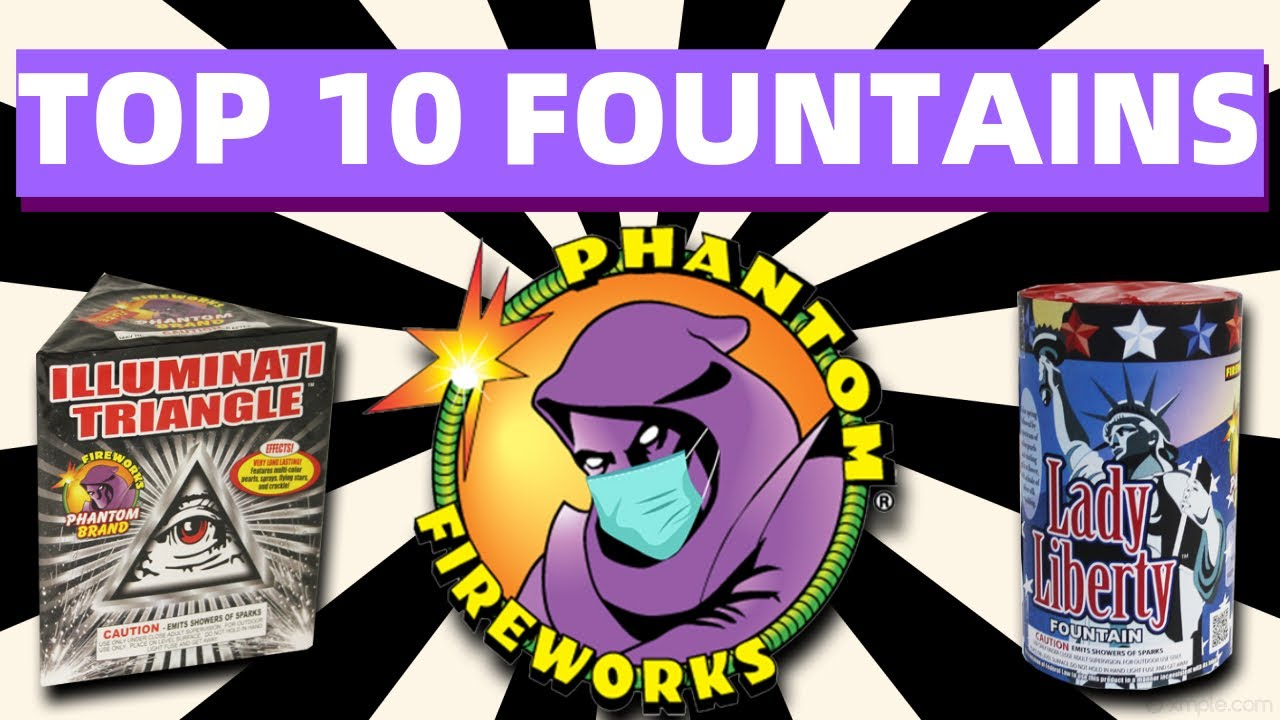 Top 10 Phantom Fireworks Fountains - California Safe & Sane (2020)