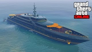 Purchased A Yacht In GTA 5 Online PS3 & Xbox 360?