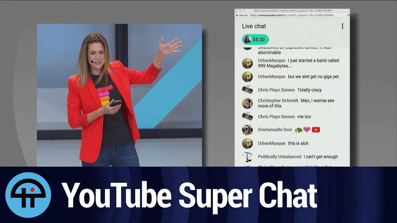 Youtube と スーパー チャット は
