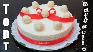 ТОРТ РЕЦЕПТ Торт-мусс Раффаэлло с белым шоколадом и кокосом - bánh Raffaello creme chocolate RECIPE