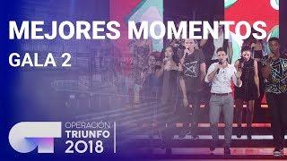 Mejores momentos de la Gala 2   OT 2018
