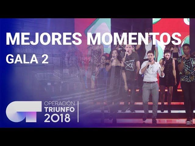 Mejores momentos de la Gala 2 | OT 2018