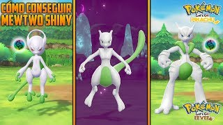 CÓMO CONSEGUIR A MEWTWO SHINY [SHINY HUNTING] | POKÉMON LET'S GO EEVEE & PIKACHU