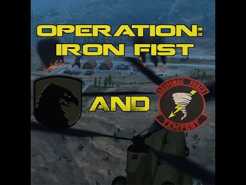 Arma 3 - Response Force Tempest and Alpha - Joint Operation: Iron Fist