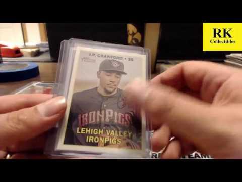 2016 Topps Heritage Minor League Baseball  (24X Ebay RECAP)